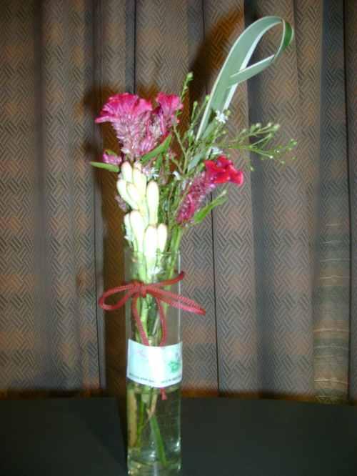 Amma centros de mesa - Centros de rosas naturales ...